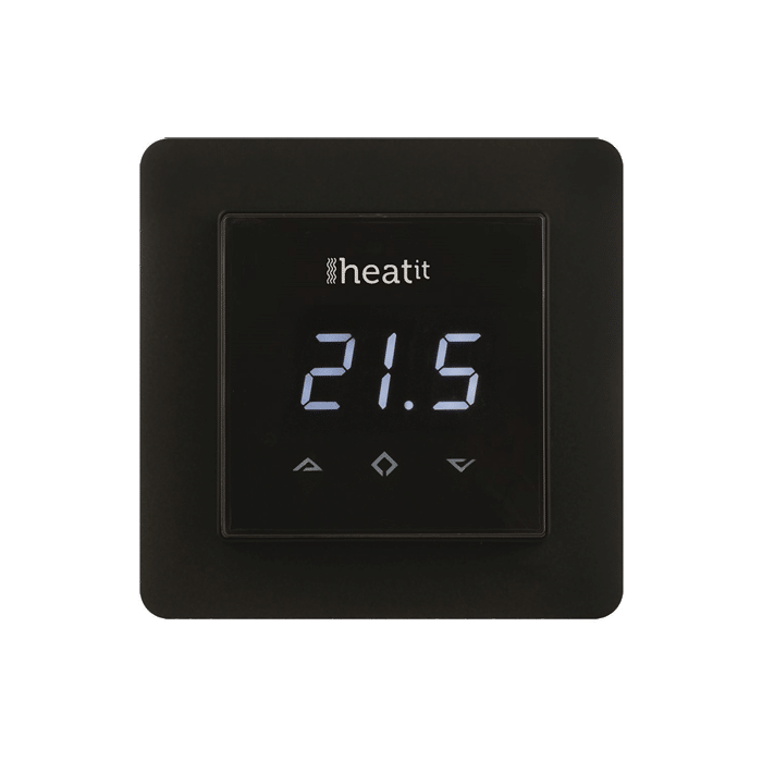 Heatit in wall floor thermostat z wave store control living